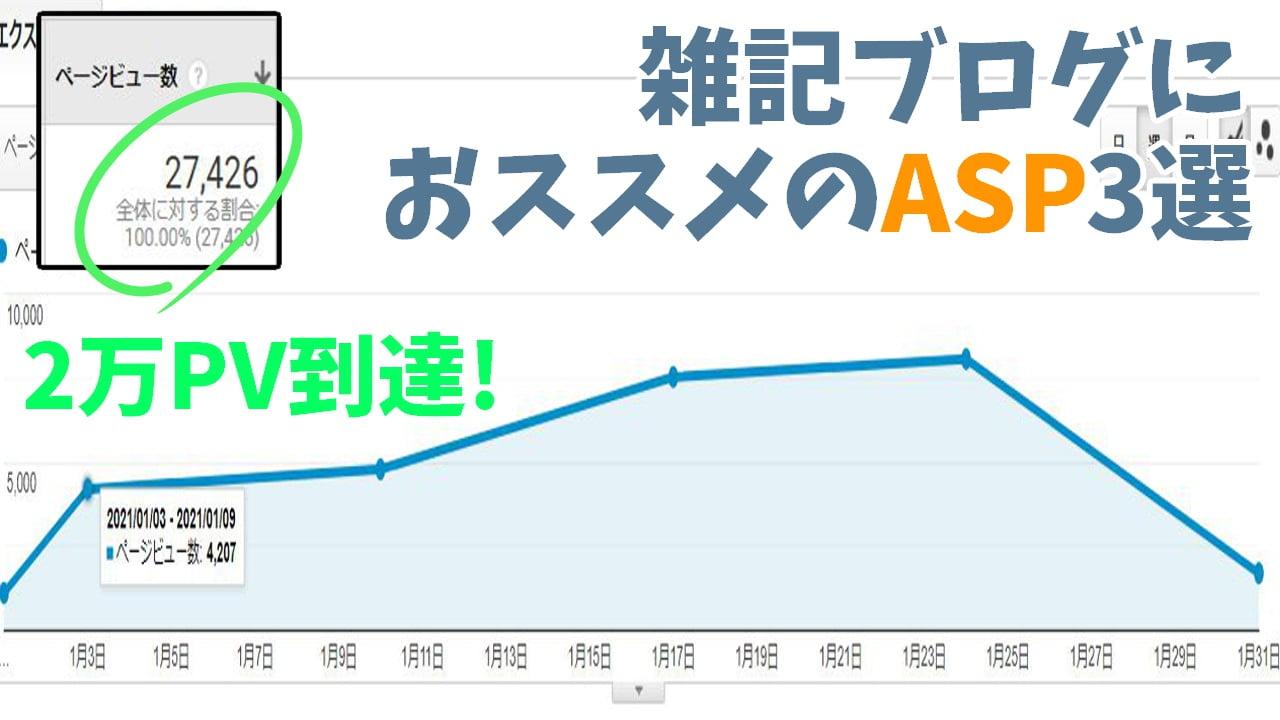 雑記ブログ おすすめ ASP